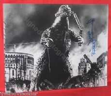 HARUO NAKAJIMA SIGNED GODZILLA LARGE 14x11 PHOTO  CERTIFIED AUTHENTIC HORROR